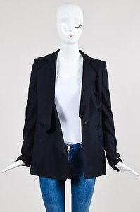 Vanessa Bruno Navy Wool Coat