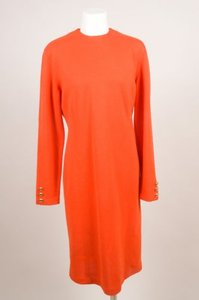 Ports 1961 short dress Orange Wool Long Sleeve on Tradesy