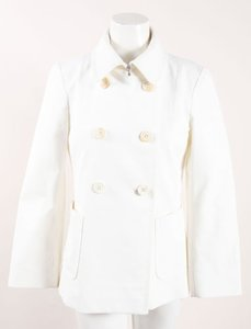 Derek Lam Cotton Double White Jacket