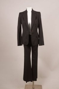 Gucci Gucci Brown-gray Wool Jacket Pants Suit
