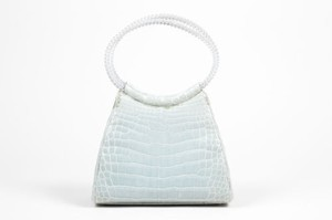 Judith Leiber Mint Green Clutch