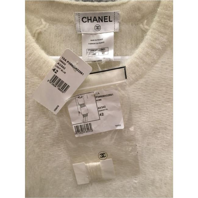 Chanel short dress White and light blue on Tradesy Image 3