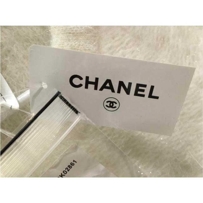 Chanel short dress White and light blue on Tradesy Image 4