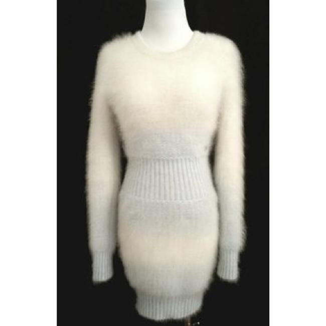 Chanel short dress White and light blue on Tradesy Image 7