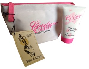 Juicy Couture Couture Couture Cosmetic Bag With Lotion