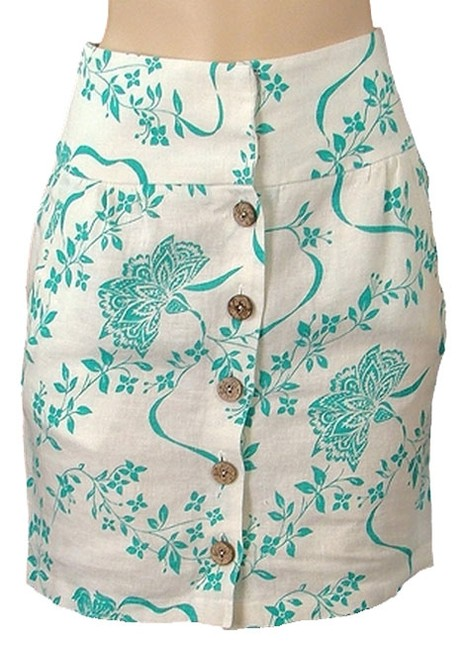 Preload https://img-static.tradesy.com/item/1095627/abaete-white-turquoise-ivory-and-green-floral-print-linen-blend-midi-skirt-size-4-s-27-0-0-650-650.jpg