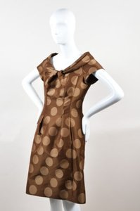 Moschino short dress Brown Cheap Chic on Tradesy