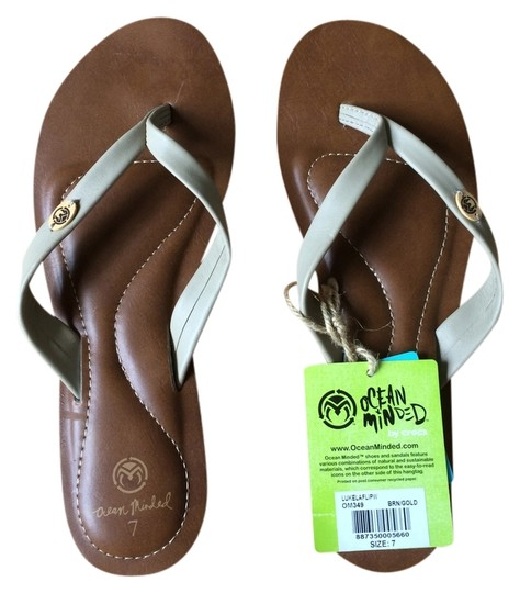 Ocean Minded Comfortable Vegan Taupe Sandals