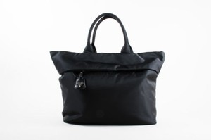 Prada Nylon Crossbody Strap Tote in Black