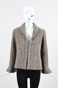 Chloé Chloe Tan Wool Blend Coat