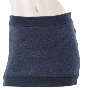 Diane von Furstenberg Wool Mini Knit Two-tone Mini Skirt Charcoal