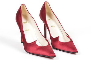 Christian Louboutin Vintage 90s Red Pumps