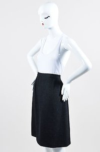 Chanel Boutique 96a Skirt Black