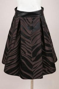 Pamella Roland Black Skirt Brown