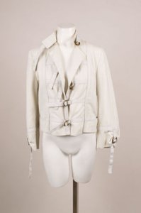 Stella McCartney Ivory Cotton Jacket