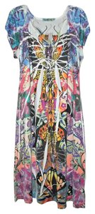 Unity World Wear short dress Multi-colored Abstract on Tradesy