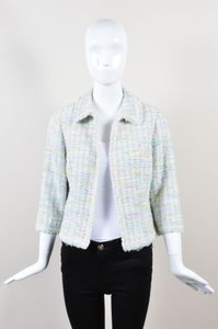W by Worth Green Pink Pastel Multi-Color Jacket