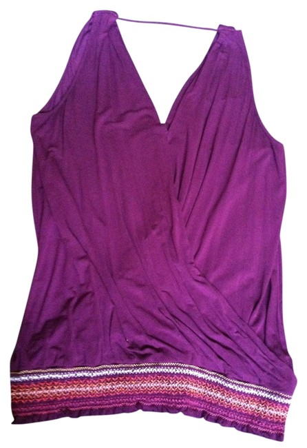 Michael Stars Top Plum