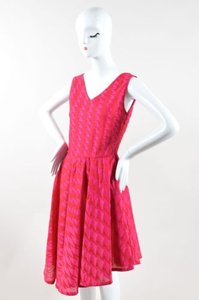 Dior short dress Pink Christian Red on Tradesy
