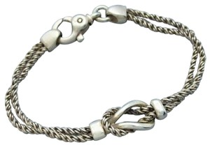 Tiffany & Co. Authentic Tiffany & Co. Double Twisted Link Chain Bracelet
