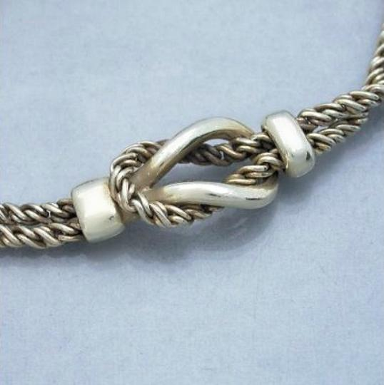 Tiffany & Co. Authentic Tiffany & Co. Double Twisted Link Chain Bracelet Image 1