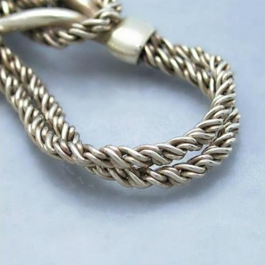 Tiffany & Co. Authentic Tiffany & Co. Double Twisted Link Chain Bracelet Image 3