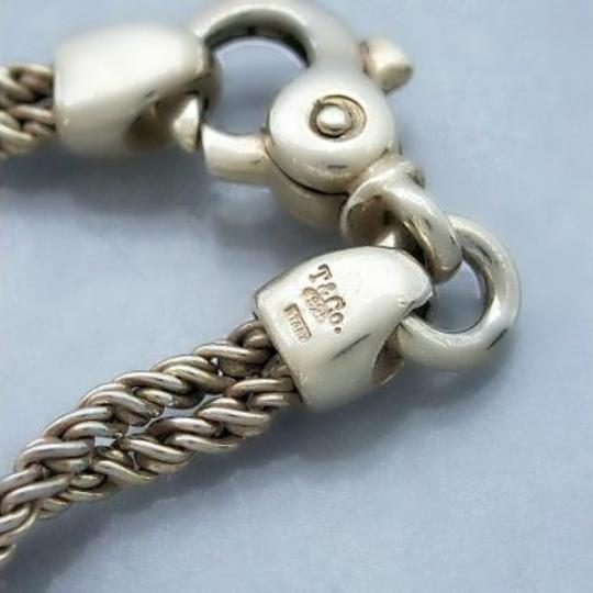 Tiffany & Co. Authentic Tiffany & Co. Double Twisted Link Chain Bracelet Image 4