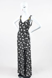 Multi-Color Maxi Dress by Emanuel Ungaro Black White