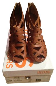 Michael Kors Whiskey / Brown Sandals