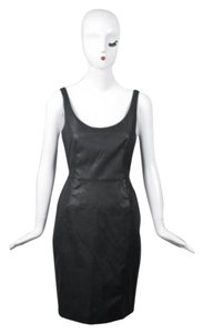 Brose Black Coated Sleeveless Dress