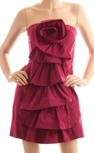 BCBGMAXAZRIA Formal Ruffle New Strapless Dress