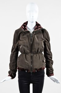 Emporio Armani Faux Fur Brown Jacket