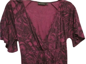The Limited Floral Top Purple