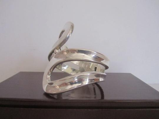 Other Taxco Vintage Cuff Bracelet Clamper 925 Sterling Silver Large