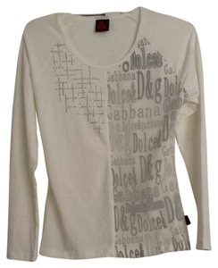 Dolce&Gabbana T Shirt White & Gray