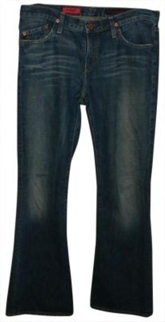 Preload https://item2.tradesy.com/images/ag-adriano-goldschmied-distressed-denim-dark-rinse-the-angel-wash-boot-cut-jeans-size-30-6-m-10966-0-0.jpg?width=400&height=650