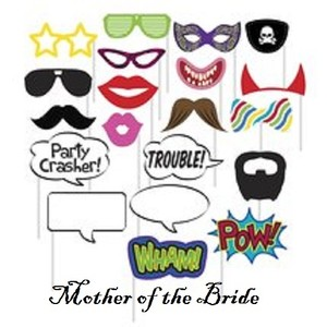 20 Photo Booth Props - New Never Used Wedding Favors