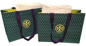 Tory Burch Tory Burch Shopping Bags and Wrapping Tissue - Set of 2