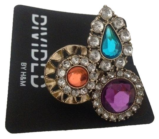 H&M Large StoneS Cocktail Ring