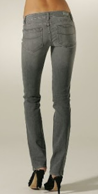 Item - Grey Light Wash Straight Leg Jeans Size 26 (2, XS)