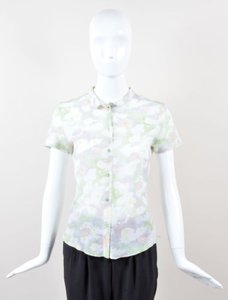 Cacharel Multicolor Top Green