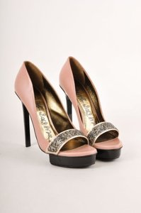 Lanvin Pink Mauveblackgray Pumps