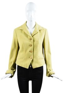 Dries van Noten Chartreuse Coat