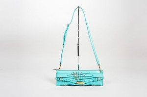 Burberry Prorsum Aqua Shoulder Bag