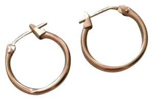 Unknown Small Gold Hoop Earrings