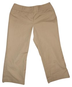 Halogen Stretch Capris khaki