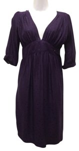Lewis Cho short dress Purple Silk on Tradesy