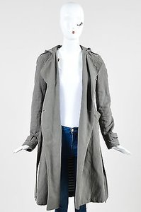 Gryphon Cotton Linen Trench Coat