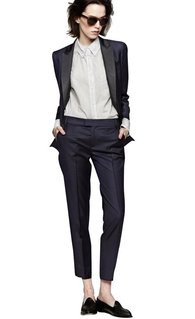 Band of Outsiders Tux Striped Pants Size 0 (XS, 25) Band of Outsiders Tux Striped Pants Size 0 (XS, 25) Image 1