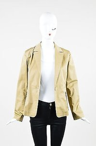 Jil Sander Khaki Cotton Beige Jacket